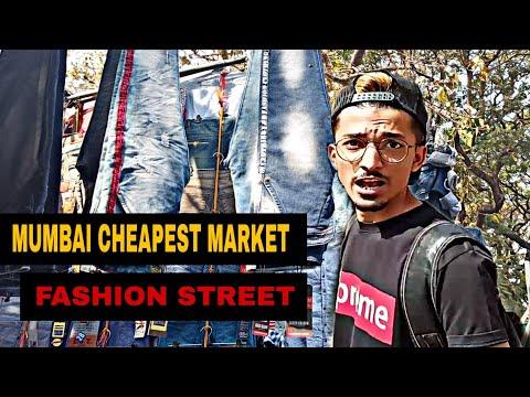 FASHION STREET MUMBAI   CHEAPEST MARKET   SHAIKH SAMIR