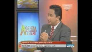 Bunuh Kucing Di Agenda Awani 7 October 2012