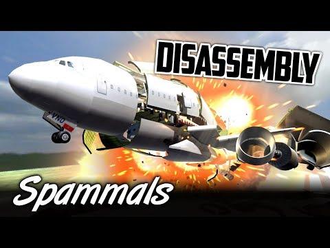 Disassembly | Airplane Crash!