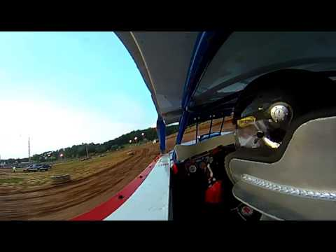 Tj Roush Motorsports 360 camera Ohio valley speedway 8/5/17 hot laps