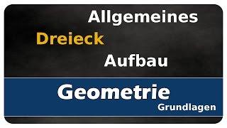 Let's Learn Aufbau eines allgemeinen Dreiecks