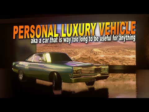 Personal Luxury Vehicle (aka, the 420HP long boi) | Automation / BeamNG