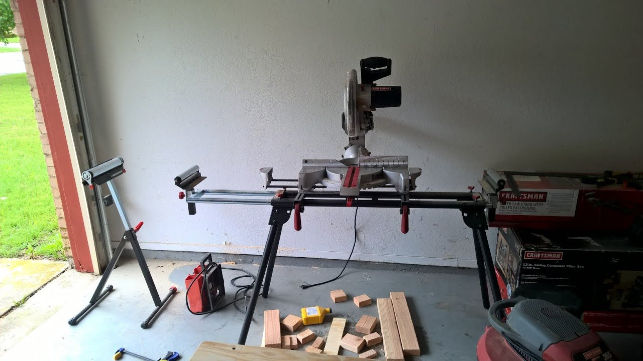My Next Project Miter Saw Stand Youtube