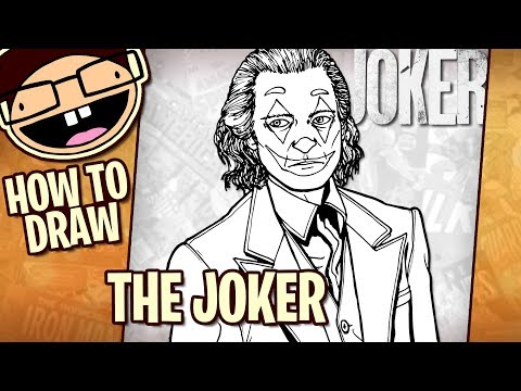 How To Draw THE JOKER (Joker 2019) | Narrated Easy Step-by-Step Tutorial