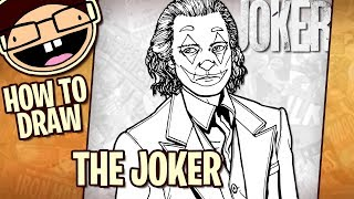 the joker drawing lesson