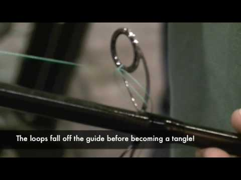 TackleTour Video - Fuji New K-Series Tangle Free Guides