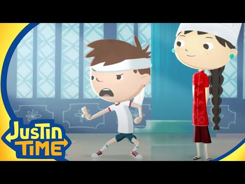 Justin the Kung Fu Master! | Justin Time Season 1