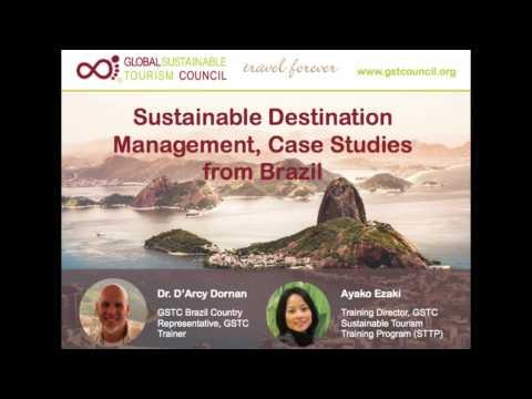 GSTC Webinar: Sustainable Destination Management