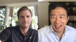 Andrew Yang and Zach Graumann talk #LetYangSpeakDNC & the Kamala pick | Yang Speaks