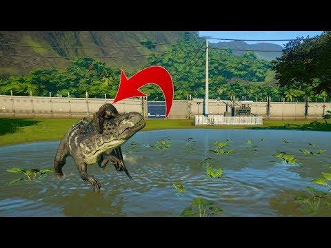 Jurassic World Evolution Game #24 Indoraptor trở lại đấu với indominusrex