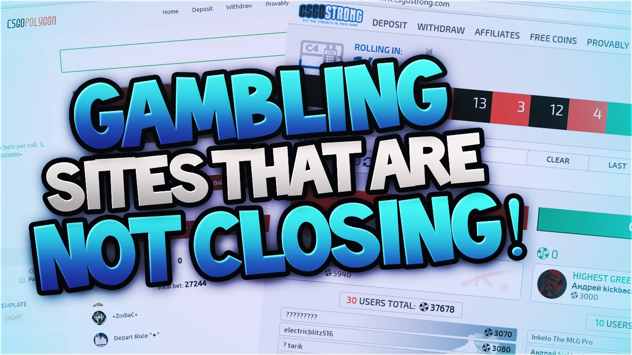 Legal Gambling Websites