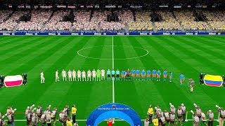 Poland vs Colombia | FIFA World Cup Russia 24 June 2018 Gameplay
