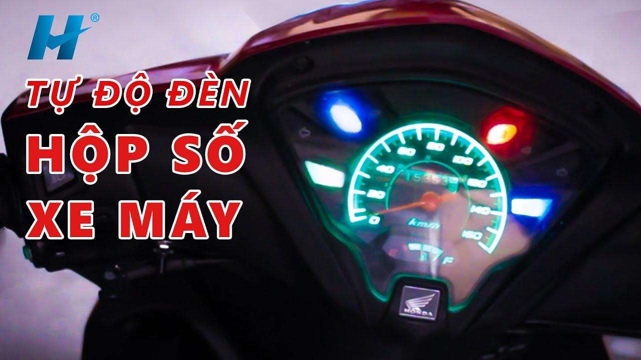 TỰ ĐỘ ĐÈN HỘP SỐ XE MÁY BẰNG LED RGB | Đơn Giản Mà Chất | BLK DIY 1