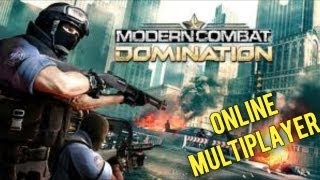 Modern Combat Domination Online with Live Commentary