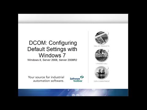 Configuring Default DCOM Settings - Windows 7