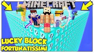 LA SFIDA DEI LUCKY BLOCK GIGANTI DI DIAMANTE! - Minecraft ITA