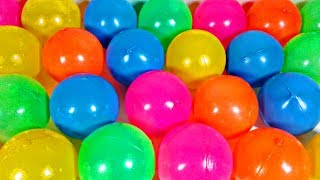Huge Colourful Balls Learn Colors and Numbers for Children by Learn with Toy