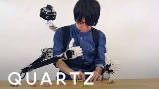 This backpack robot gives you an extra set of hands