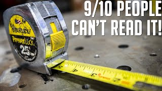 Can you REALLY Ręad a Tape Measure?