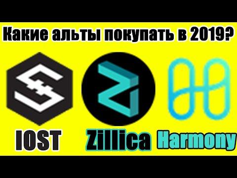 Инвестиции в КРИПТУ ДЕКАБРЬ 2019 (IOST, Zillica, Harmony) Куда инвестировать в конце 2019 года?
