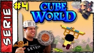 CUBE WORLD . Dicas e Guia #4 . Glider Asa Delta . Quests . Pet Name . INN. Treinadores