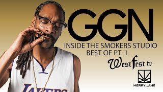 Snoop Takes His Famous Friends Inside the Smoker