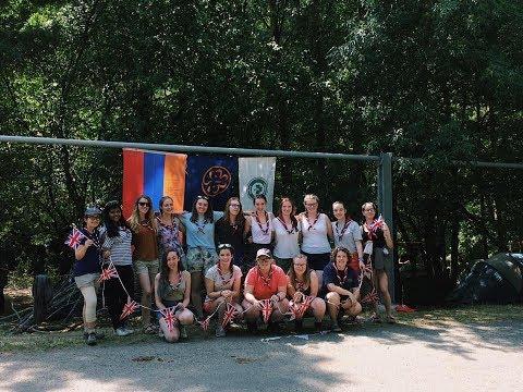 Girlguiding North West England - Armenia 2017