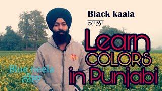 Colors in Punjabi   Learn Punjabi Language