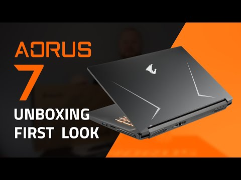 AORUS 7 Gaming Laptop | Unboxing & First Look