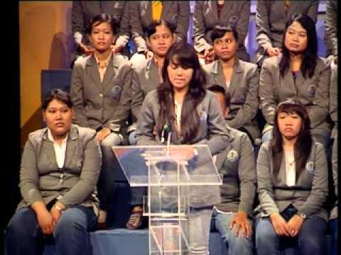 Prabawati Sinta W Debat Inggris Relax TVRI