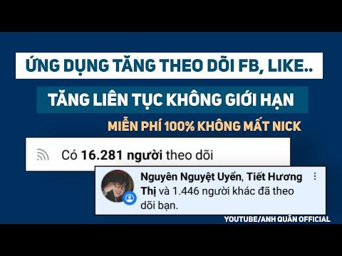 hướng dẫn hack lượt theo dõi trên facebook - Cách Tăng Lượt Theo Dõi FB Không Giới Hạn Thời Gian Hoàn Toàn Miễn Phí Mới Nhất