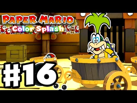 Paper Mario: Color Splash - Gameplay Walkthrough Part 16 - G