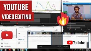 How to edit videos on YouTube Studios   Best video editing app  YouTube Editor   Trim,blur,add music