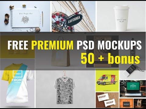 Free Premium Psd Mockups