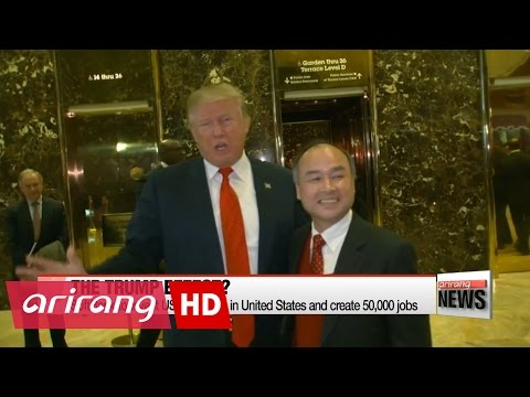 SoftBank to invest US$ 50 billion in United States and create 50,000 jobs