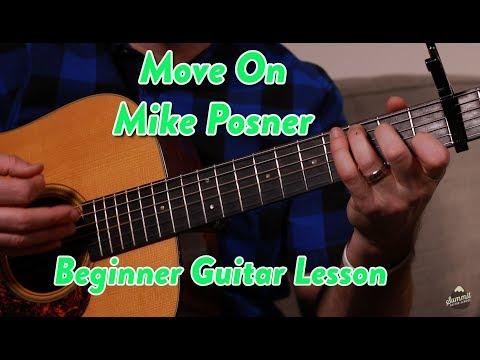 Move On--Mike Posner--Beginner Guitar Lesson