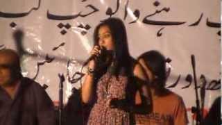 Aye Jazba-e-Dil - Live performance by Nish