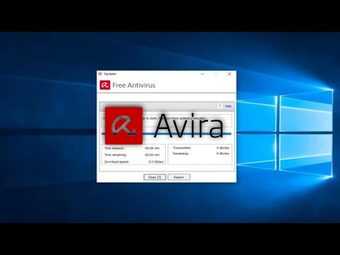Avira Free Antivirus  - How To Update