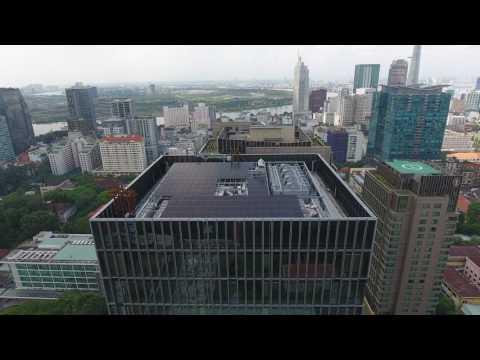 Deutsches Haus Ho Chi Minh City, 4K Camera + Aerials with Drone - Trailer