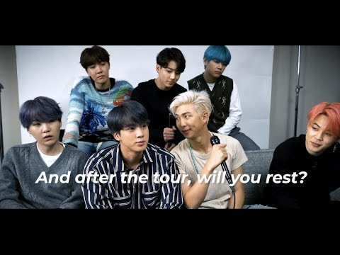 Will BTS rest after their world tour?  NOPE  Find out why