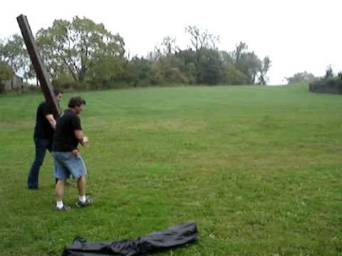 S and M Con Trollkin Caber Toss 2 Tom Hoffmann