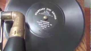 Pocahontas: A Burlesque Indian Song - 1905 Standard Disc Record