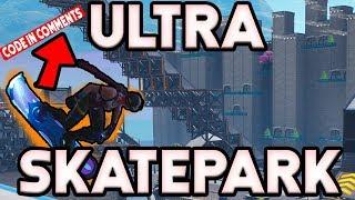 DRIFTBOARD Skatepark in Fortnite (code in video) Dolphindoms