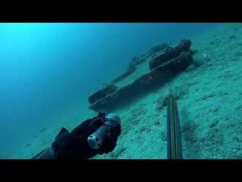 Fishing in wrecks 1... Ψαρεμα σε ναυαγια
