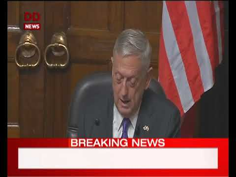 Defence Minister Sitharaman and US Defence Secretary Mattis