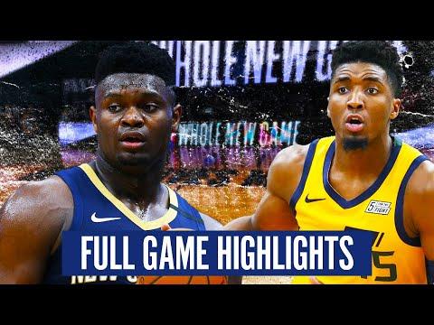 UTAH JAZZ vs NEW ORLEANS PELICANS - FULL GAME HIGHLIGHTS | 2019-20 NBA Season