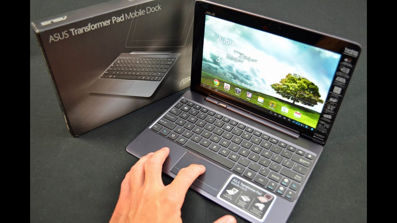 Asus Transformer Pad Infinity Mobile Dock: Unboxing & Review