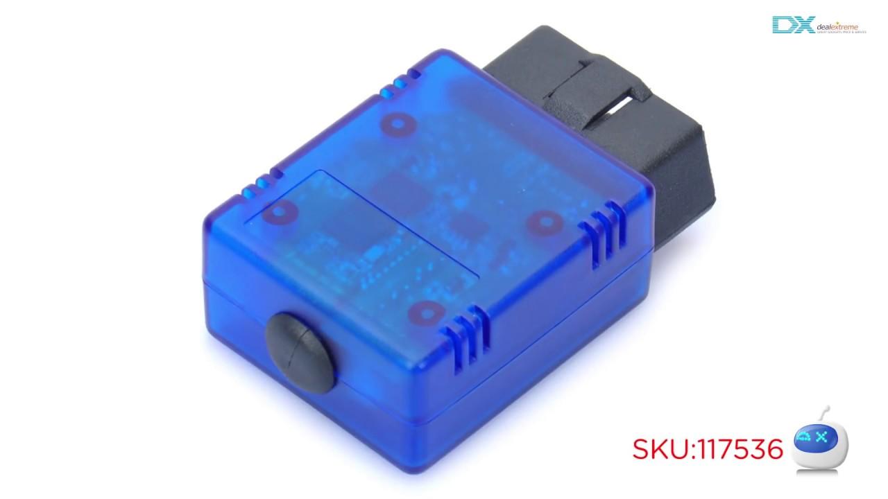 DX: ELM327 v1 4b OBD2 OBDII Bluetooth Auto Car Diagnostic Scan Tool