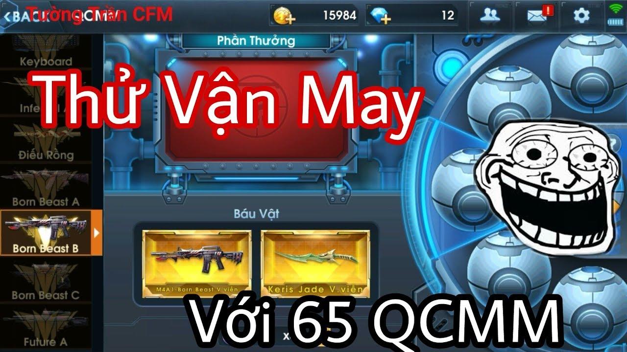 VTC Game | Quay Tay Thử Vận May Với 65 QCMM Game Phục Kích | Tường Trần CFM