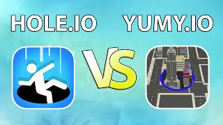 Hole.io vs Yumy.io | Which game is better?